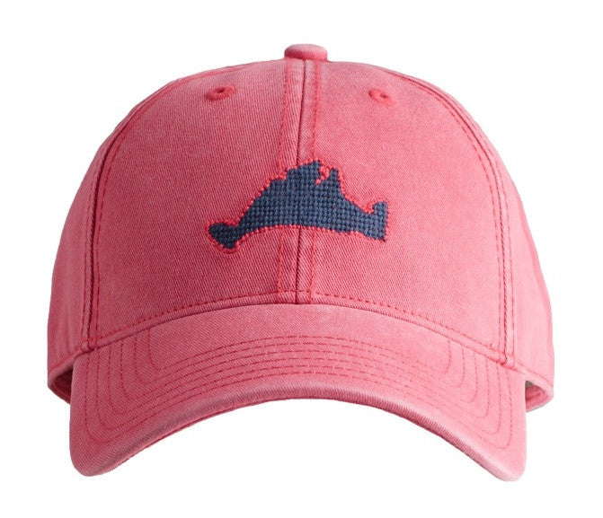 Martha's Vineyard on Weathered Red Hat (back 2018)