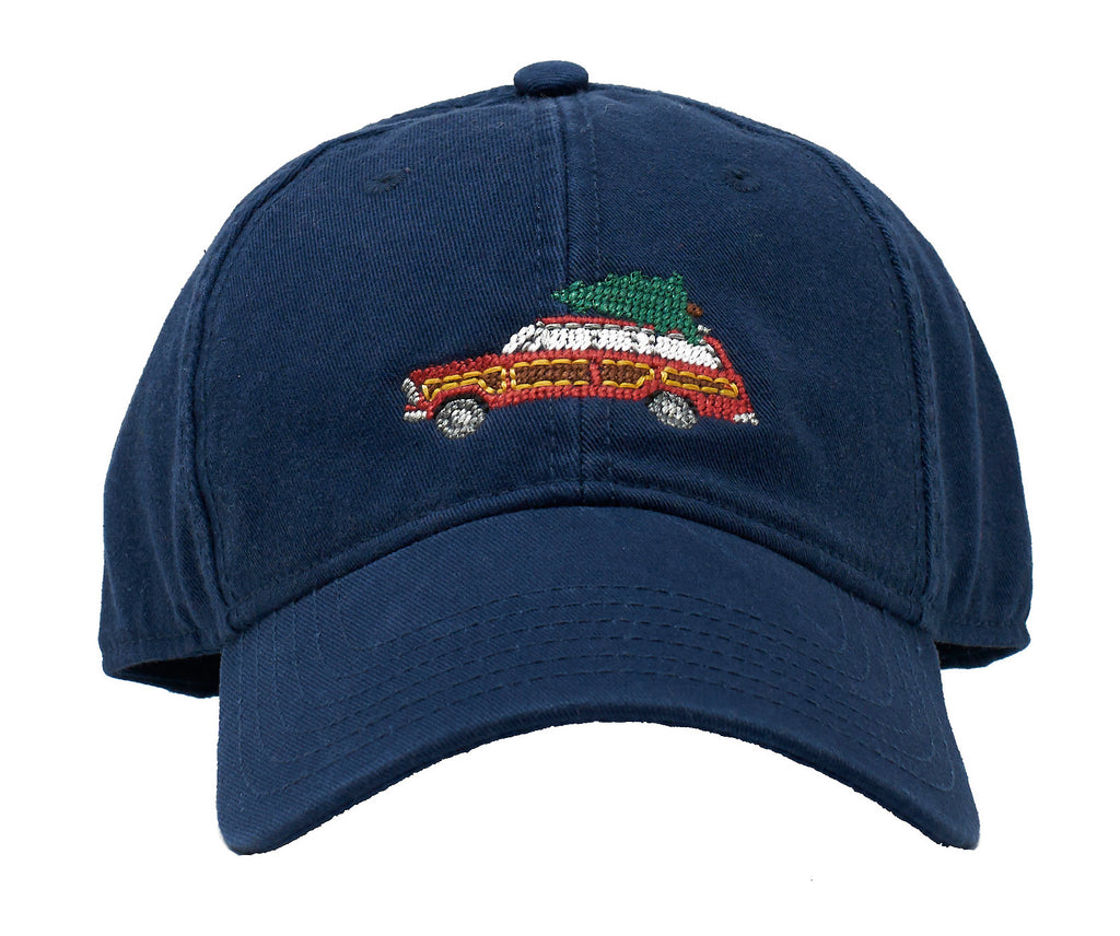 Kids' Holiday Wagoneer on Navy Hat
