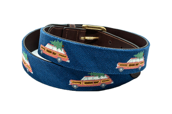 Holiday Wagoneer on Navy Belt