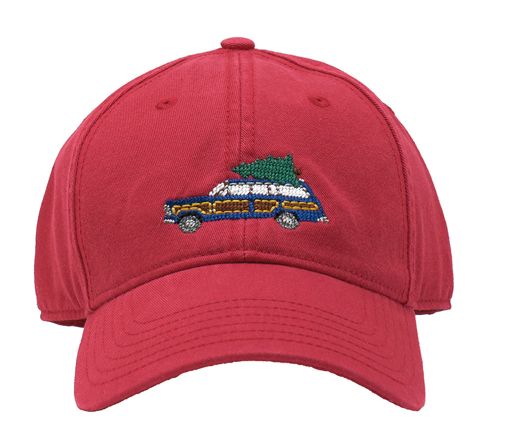 Holiday Wagoneer on Weathered Red hat