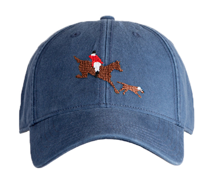 Horse & Hound on Navy Hat