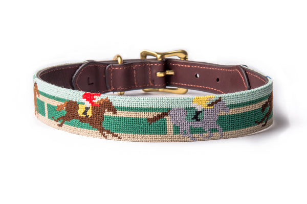 Horse Race Dog Collar