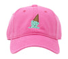 Kids Ice Cream on Bright Pink Hat
