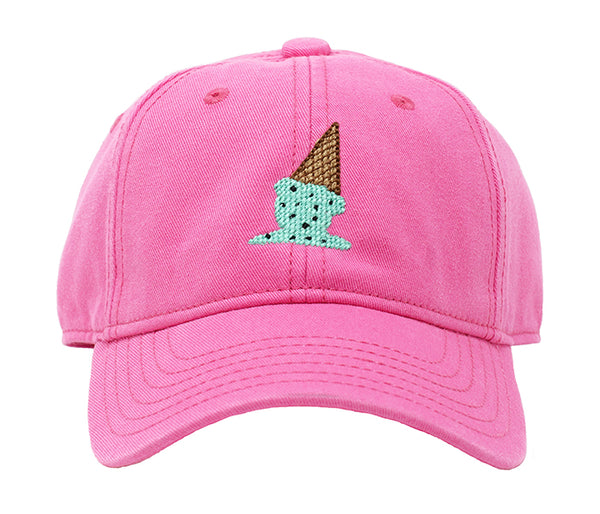 Kids' Ice Cream on Bright Pink Hat