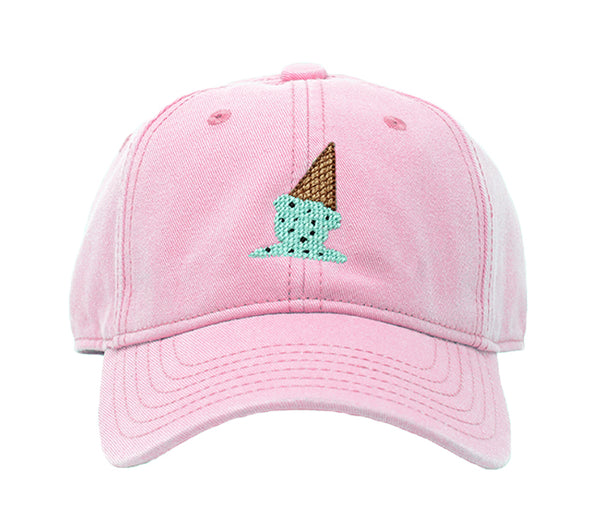 Kids' Ice Cream on Light Pink Hat