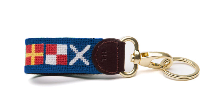 RUM Flags on Atlantic Blue Key Fob