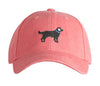 Kids Black Lab on New England Red Hat