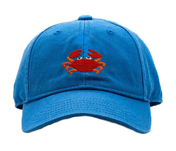 Kids Crab on Cobalt Hat