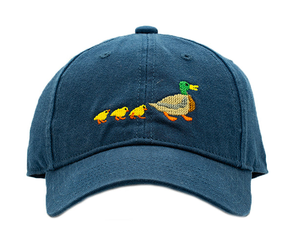 Kids Ducklings on Navy Hat