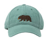 Kids' Bear on Moss Green Hat