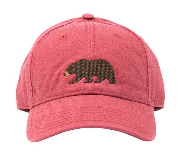Kids' Bear on Weathered Red Hat