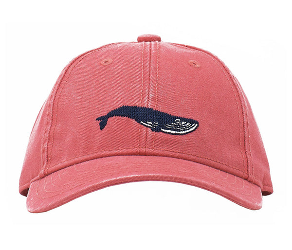 Kids' Blue Whale on New England Red Hat
