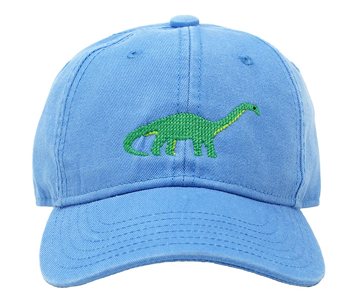 Kids Brontosaurus on Light Blue Hat