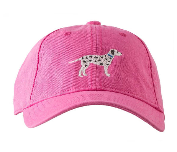 Kids' Dalmatian on Bright Pink Hat