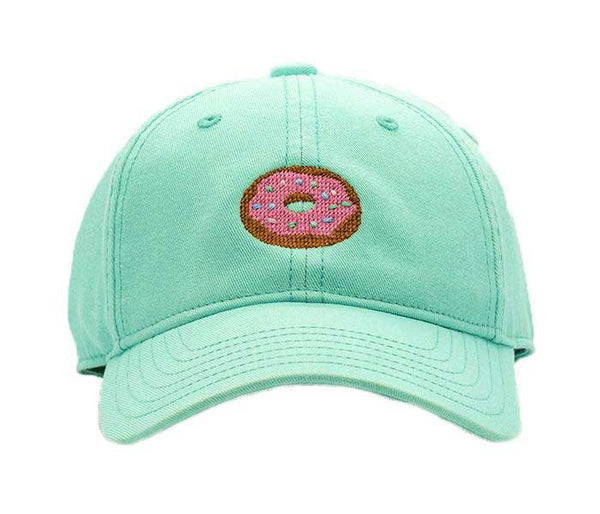 Kids Donut on Keys Green Hat