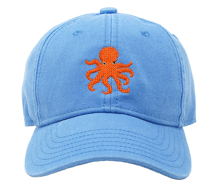 Kids' Octopus on Light Blue Hat