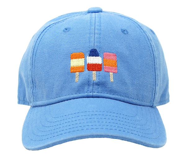 Kids Popsicles on Light Blue Hat