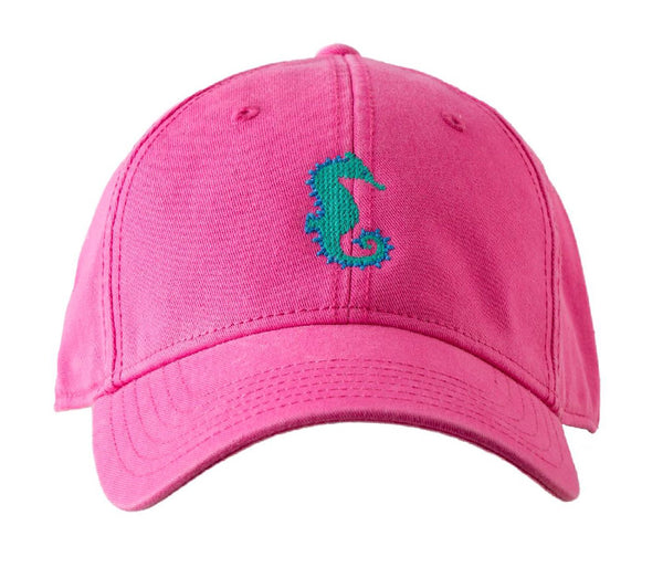 Seahorse on Bright Pink Hat