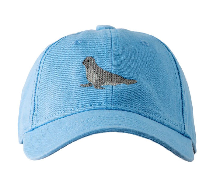 Kids' Seal on Coast Blue Hat