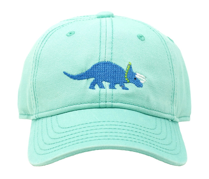 Kids' Triceratops on Keys Green Hat