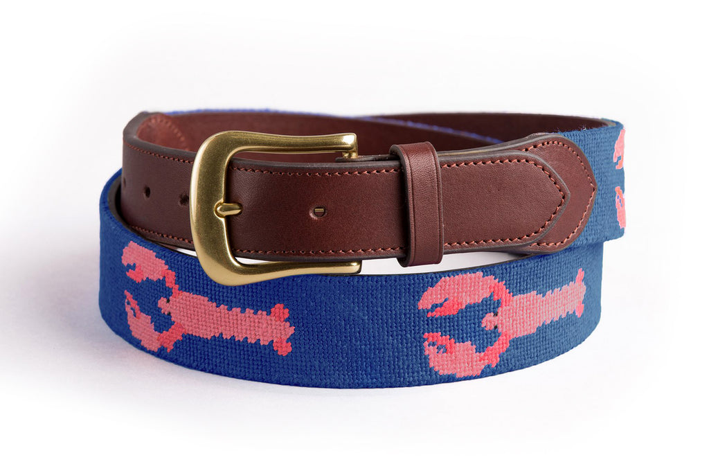 Lobster on Blue Belt