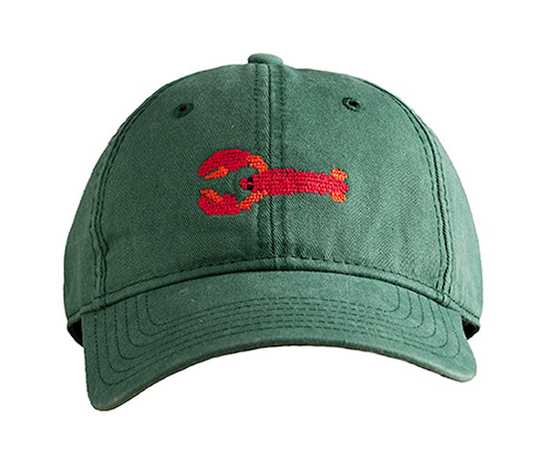 Lobster on Hunter Green Hat