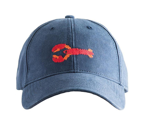 Lobster on Navy Blue Hat