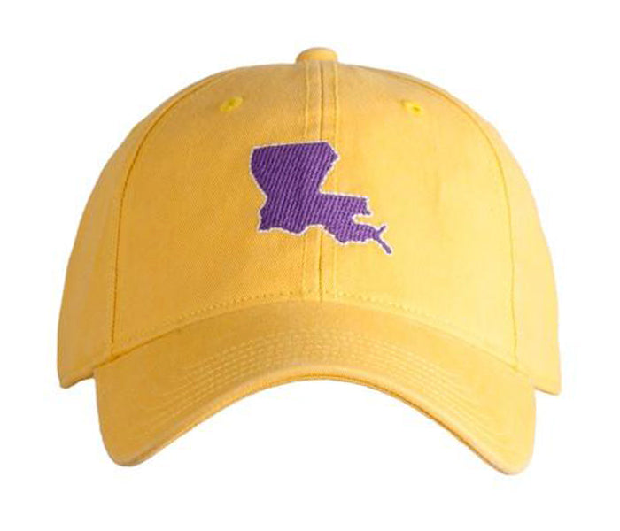 Louisiana on Yellow Hat