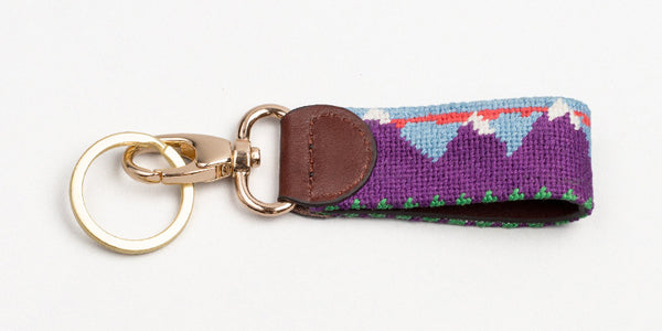 Mountains Key Fob