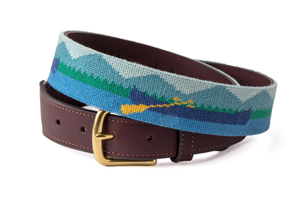 Mountains & Canoes Belt