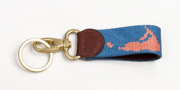 Nantucket on Blue Key Fob