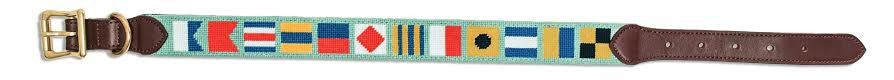NEW! Nautical Flags© Dog Collar