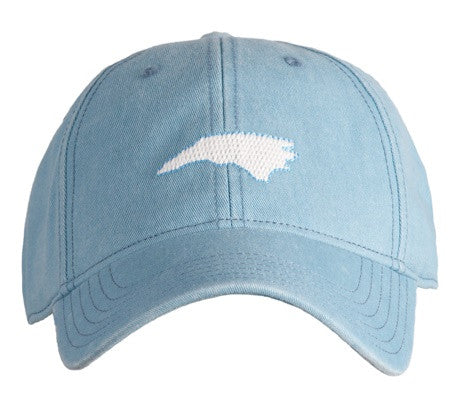 Mountains on Navy Blue Hat