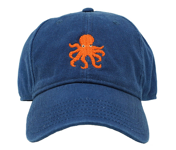 Octopus on Navy Hat