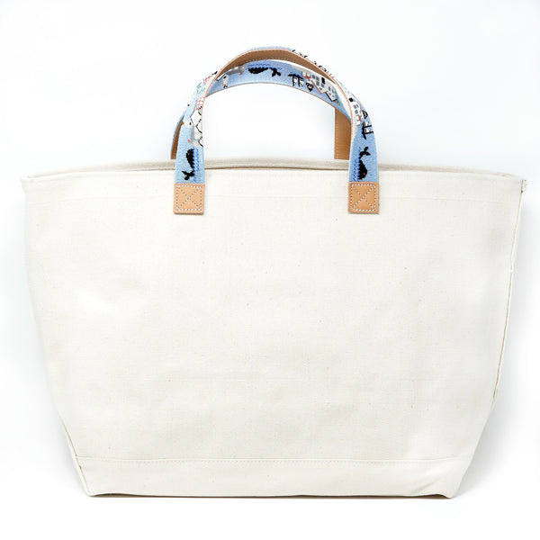Old Nantucket Harbor Tote (Excluded From Sale)