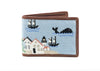 Old Nantucket Harbor Wallet