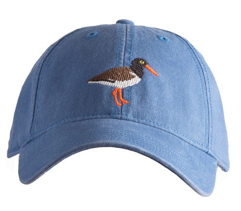 Oyster Catcher on Slate Blue Hat