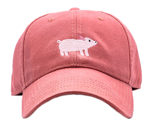 Kids Pig on New England Red Hat