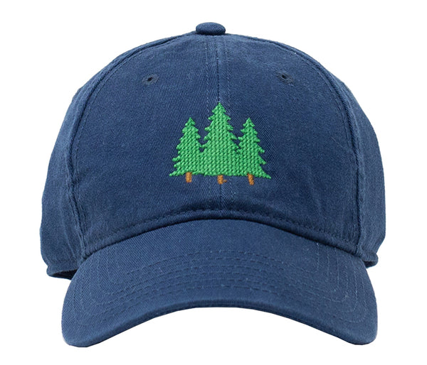 Pine Trees on Navy Hat