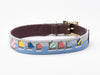 Rainbow Fleet Dog Collar