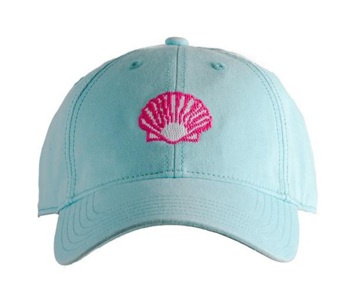 Scallop on Aqua Hat