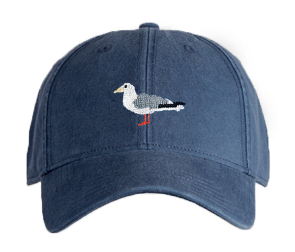 Seagull on Navy Hat