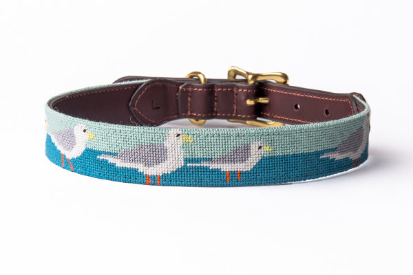 Seagulls Dog Collar