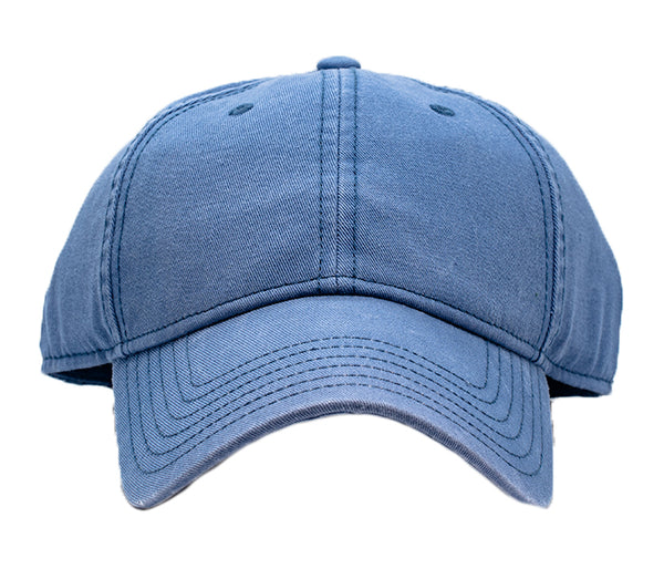 The Naked Cap Slate Blue