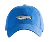 Striped Bass on Slick Blue Hat