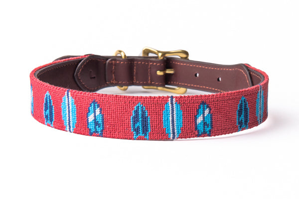 Surfboards Dog Collar