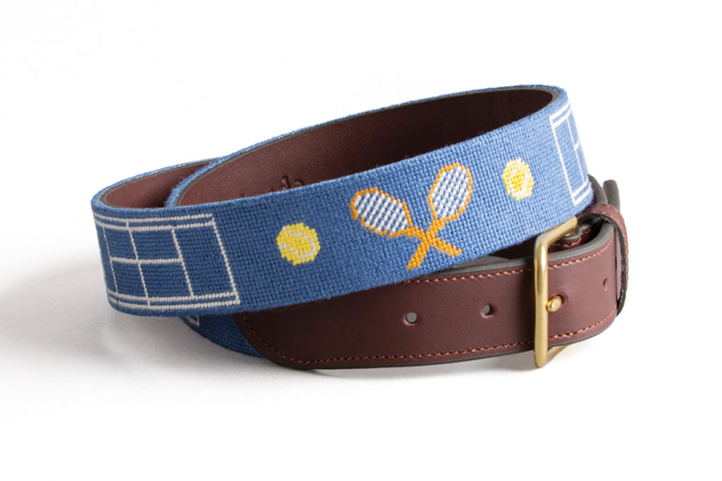 Tennis on Navy Belt