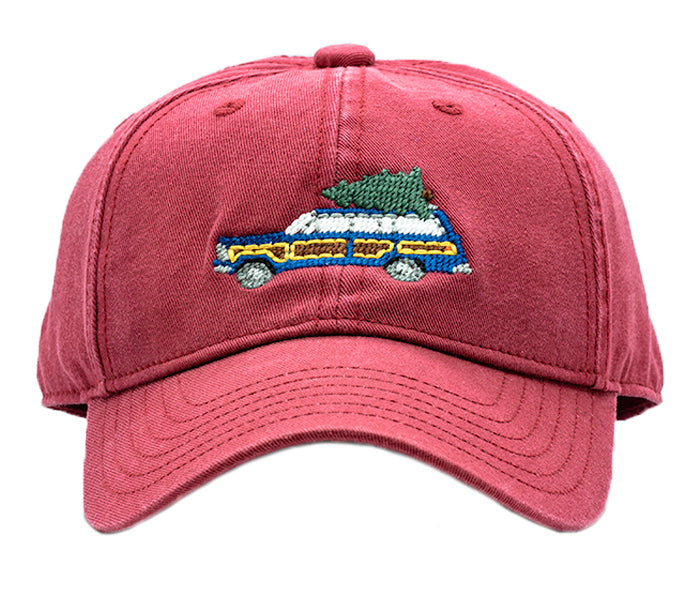 Kids Holiday Wagoneer on Weathered Red Hat