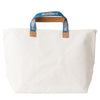 White Whale on Blue Tote (EXCLUDED FROM SALE)