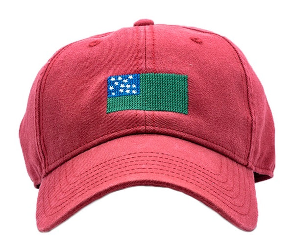 Green Mountain Boys on Weathered Red Hat